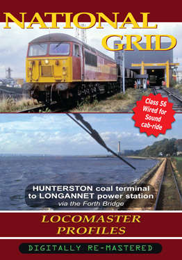 National Grid - Class 56 56096 Hunterson to Dunfermline & Alloa (Longannet)